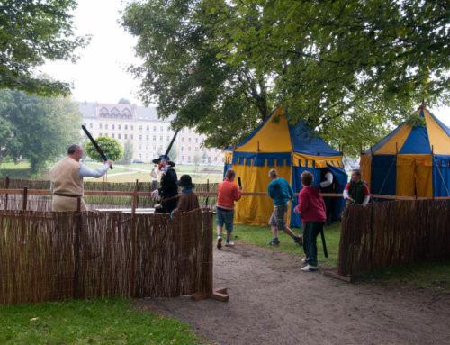 Obóz historyczny z wyposażeniem